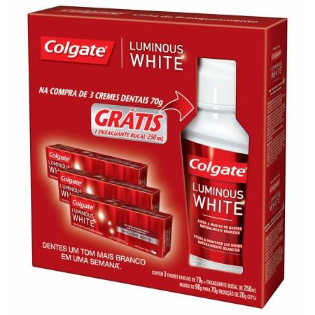 Kit Creme Dental Luminous White