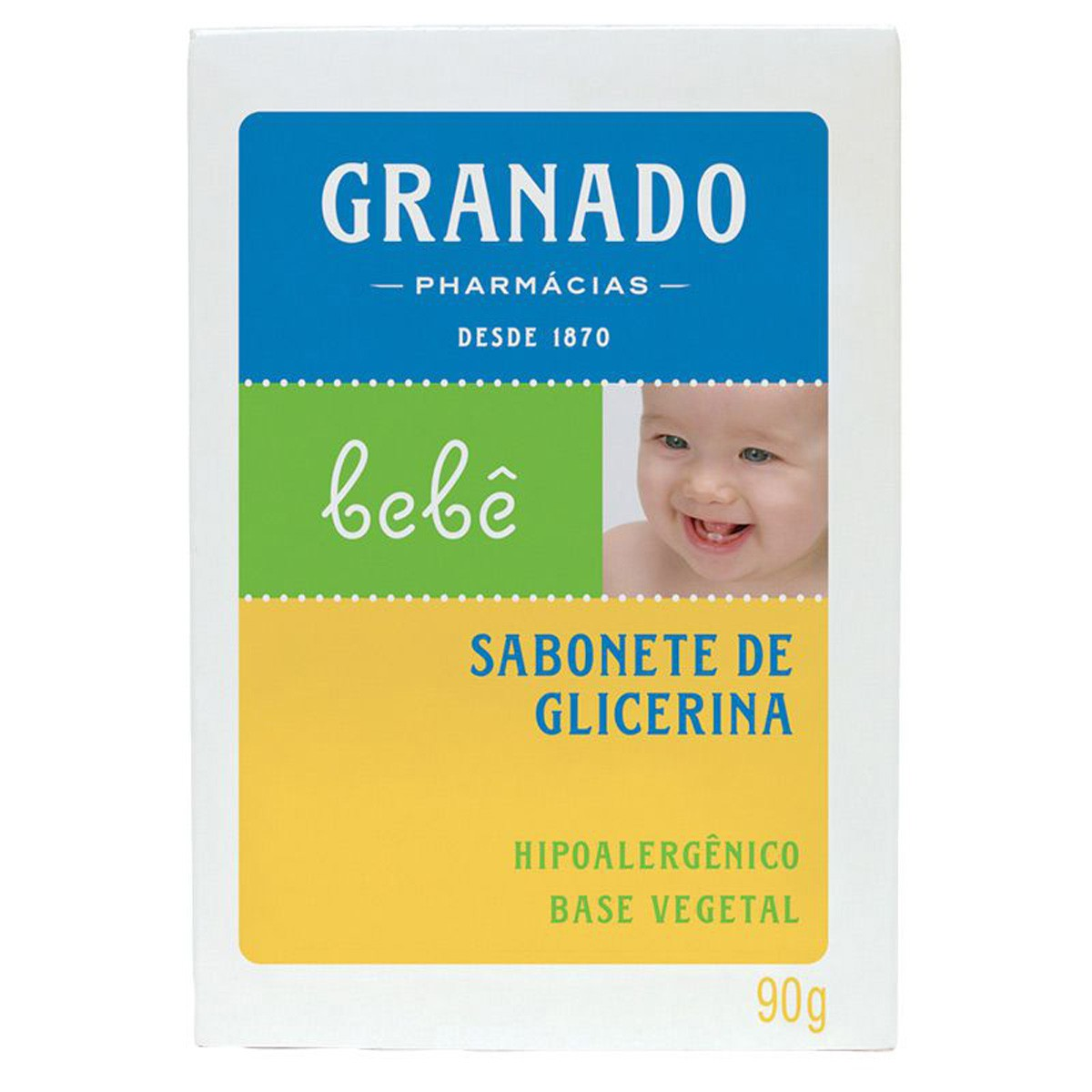 Sabonete de Glicerina Bebê Granado 90 g