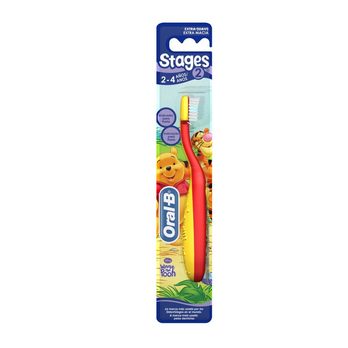 Escova Dental Infantil Stages N°2 Oral - B 1 Unidade