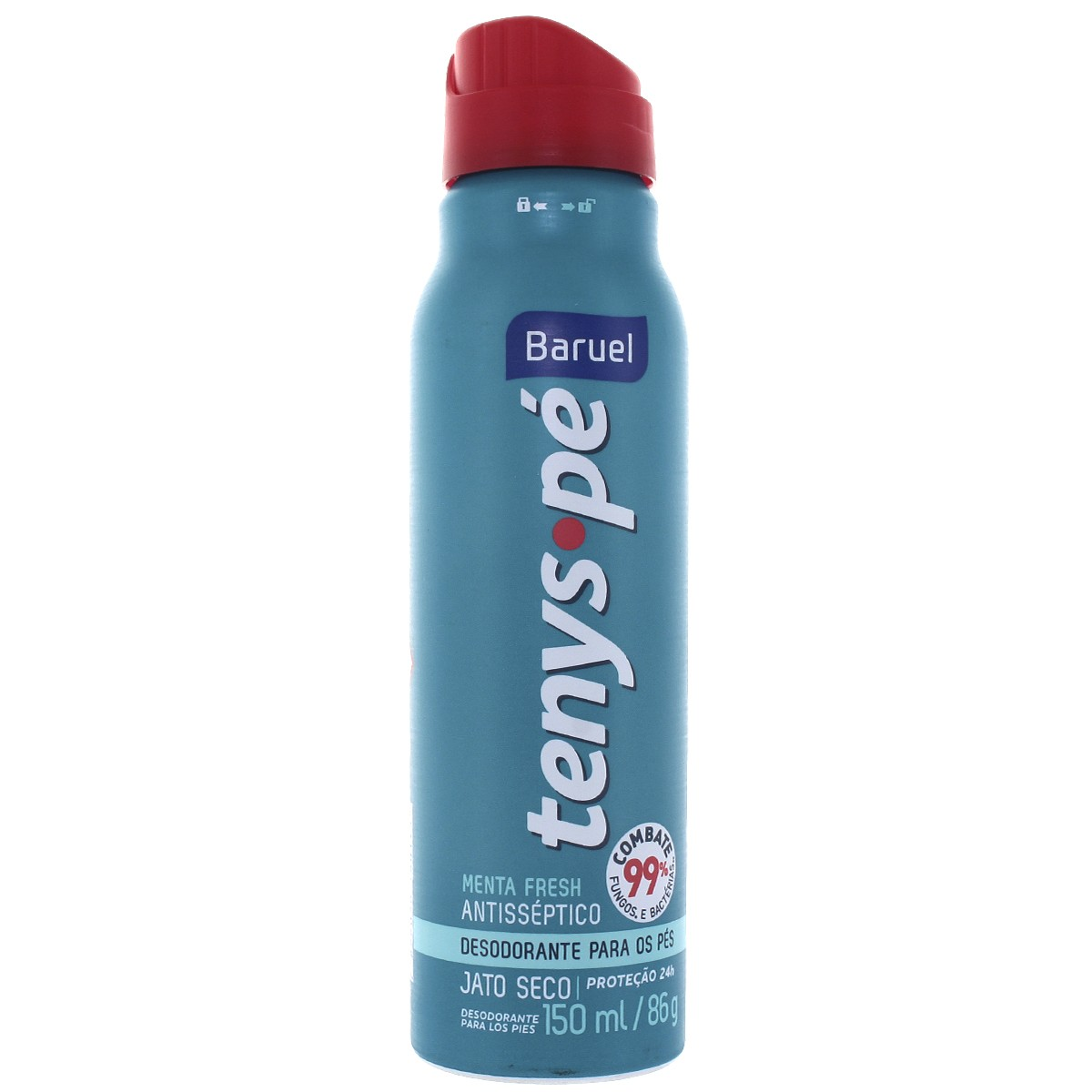 Desodorante para os pés Jato Seco Tenys Pé Menta Fresh Tenys pé 150ml - brand