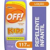 Repelente Loção OFF Kids