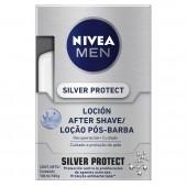 Loção Pós-Barba Nivea Men Silver Protect