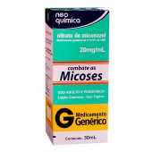 Nitrato de Miconazol 20mg