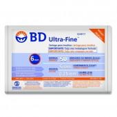 Seringa de Insulina Ultra-Fine 6mm