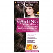 Coloração Permanente Casting Creme Gloss N° 500 Castanho Claro