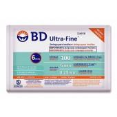 Seringa de Insulina Ultra-Fine 6mm 100U