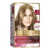 Coloração Permanente Imédia Excellence 7.1 Louro Acinzentado