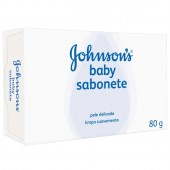 Sabonete Johnson's Baby Branco