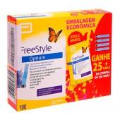 Tiras para Glicose Optium Freestyle