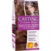 Coloração Permanente Casting Creme Gloss N° 670 Chocolate com Pimenta