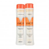 Kit Shampoo + Condicionador Charis Vivacity Reflex Blond
