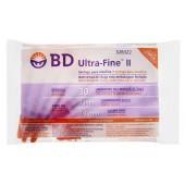 Seringa de Insulina Ultra-fine 8mm 30UI