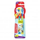 Kit Escova Dental Infantil Colgate Smiles Minions