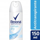 Desodorante Aerosol Rexona Cotton