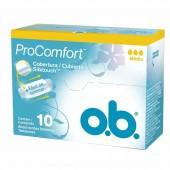 Absorvente Interno O.B ProComfort Médio