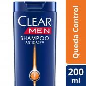 Shampoo Clear Men Anticaspa Queda Control