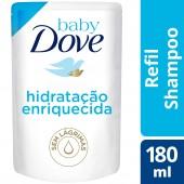 Shampoo Baby Dove Hidratação Enriquecida Refil