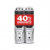 Kit Desodorantes Aerosol Rexona Men Invisible