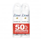Kit Desodorantes Aerosol Dove Invisible Dry