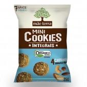 Mini Cookies Integrais Mãe Terra Sabor Castanhas