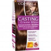 Coloração Permanente Casting Creme Gloss N° 610 Beijinho