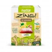 Bala de Gengibre Natur Zing Sabor Limão