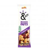 Barra de Cereal Mixed Nuts Cranberry