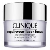 Creme Anti-idade Clinique Repairwear Laser Focus Line Smoothing Cream Broad Spectrum FPS 15