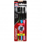 Escova Dental Colgate  Slim Soft Black Macia