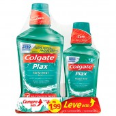 Kit Enxaguante Bucal Colgate Plax Fresh Mint