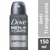 Desodorante Antitranspirante Aerosol Dove Men Antibac