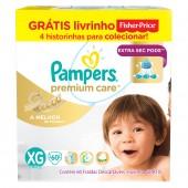 Fralda Premium Care Tamanho XG