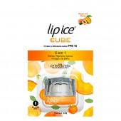 Protetor Labial Cube Lip Ice Pêssego com Manga FPS15