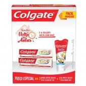 Kit Creme Dental Colgate Total 12 + Gel Dental Minions