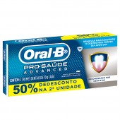 Kit Creme Dental Oral-B Pro-Saúde Advanced