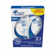 Kit Shampoo Anticaspa Head & Shoulders Men 3 em 1