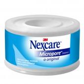 Fita Micropore Nexcare Branca 25mm x 4,5m