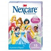 Curativos à Prova D'água Nexcare Princesas