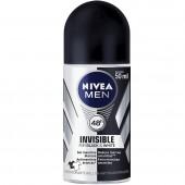 Desodorante Roll On Nivea Men For Black & White