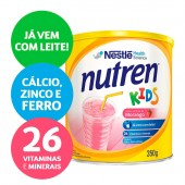 Complemento Alimentar Nutren Kids Sabor Morango