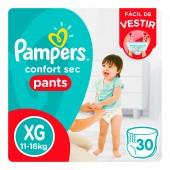 Fralda Pampers Confort Sec Pants Tamanho XG 30