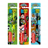 Escova Dental Infantil Powerdent Teen Titans Go