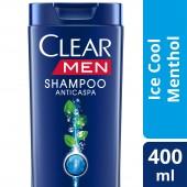 Shampoo Clear Men Anticaspa Ice Cool Mentol
