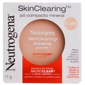 Pó Compacto Mineral Neutrogena SkinClearing Cor Claro