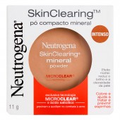 Pó Compacto Mineral Neutrogena Skin Clearing Mini Powder Intenso