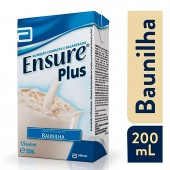 Suplemento Nutricional Ensure Plus Sabor Baunilha