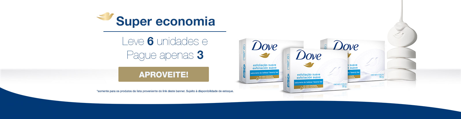 Sabonete Barra Dove