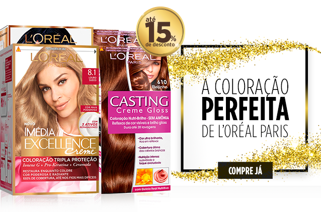 coloracao loreal paris