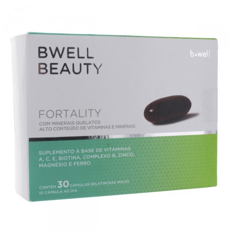 Suplemento Vitamínico Bwell Beauty Fortality