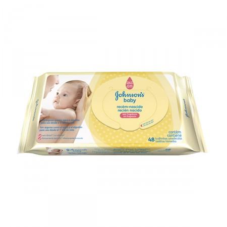 Toalhinhas Umedecidas Johnson's Baby Recém-Nascido